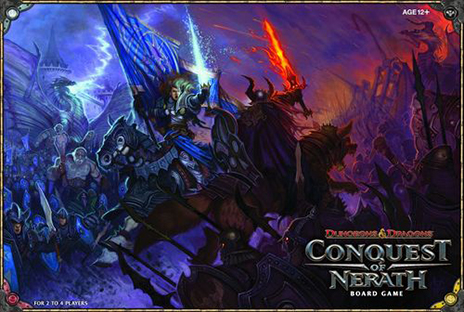 Dungeons & Dragons: Conquest of Nerath Board Game